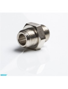 União macho-macho 1/8 metal  P/CO2 - 2101074