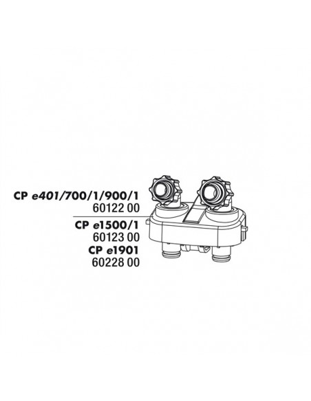 Bloco de ligação para mangueira - 2103602