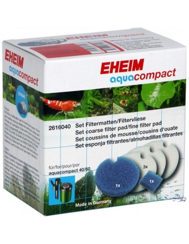 Set of filter pads for aquacompact 40 and 60 - 2103780