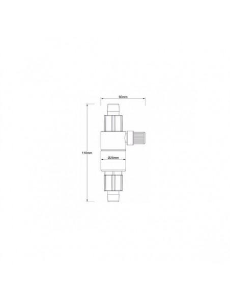 Reactor/Atomizador CO2 Qanvee 12/16 - 2103930
