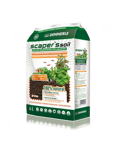 Dennerle Scapers Soil Type 1-4mm- 4L - 2102790