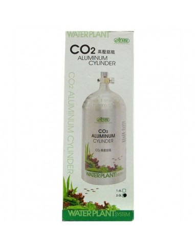 Botija Aluminio Recarregavel CO2 2000ml - 2100302