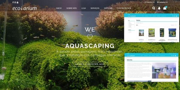 Novo website Ecoarium